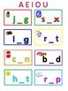 Short Vowel Worksheets or Mats
