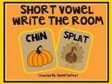 Short Vowel Write the Room