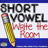 Short Vowel Write the Room Pack
