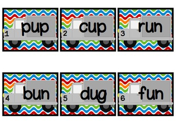 Short Vowel Write the Room Pack