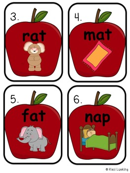 Short Vowel a Apple Picking- Differentiated Read the Room Activity