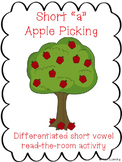 Short Vowel a Apple Picking- Differentiated Read the Room
