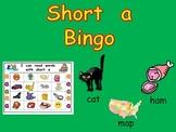 Short Vowel a Bingo Game- Kindergarten Word Work