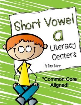 Short Vowel a Literacy Centers
