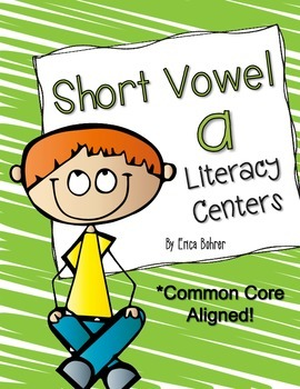 Short Vowel a Literacy Centers