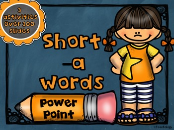 Short Vowel -a PowerPoint