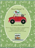 """Short Vowel """"a"""" cut and staple emergent/early reader booklets"""