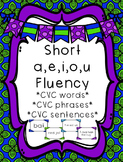 Short Vowel (a,e,i,o,u) Bundle - Differentiated Sentence F