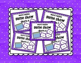 Short Vowel a e i o u Word Family Game Show BUNDLE for PowerPoint