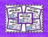 Short Vowel a e i o u Word Family Game Show BUNDLE for PowerPoint