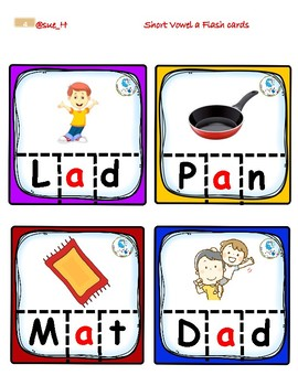 Short Vowel a puzzle set 2