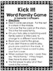 Word Family Card Game Bundle for grades 2-4