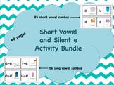 Short Vowel and  Silent e Activity Bundle