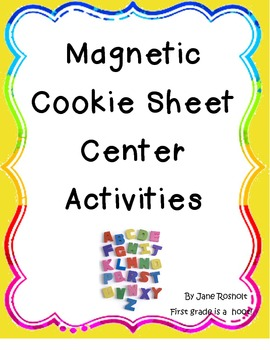 Short Vowel cookie tray activity