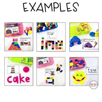 Long Vowel cvce words Activities | STEM Activities