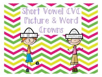 Short Vowel cvc Crowns