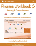 Phonics & Short Vowel eWorkbook 3 - by I See, I Spell, I Learn®