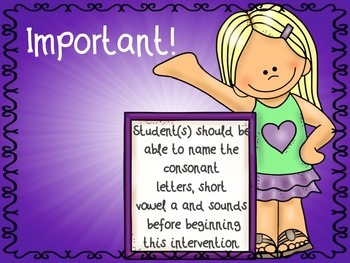 Short Vowel i Intervention