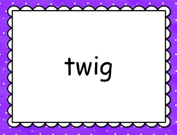 Short Vowel 'i' Word Families GAME SHOW for PowerPoint