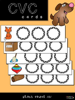 Short Vowel /o/ - CVC Sound Word Cards