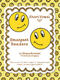 """Short Vowel """"o"""" Cut and Staple booklets Emergent Early Readers"""