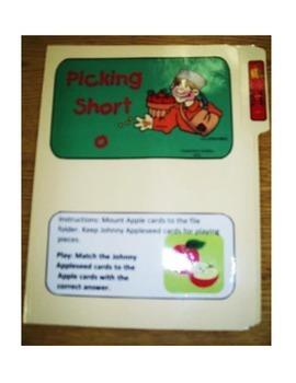 """Short Vowel """"o"""": File Folder"""