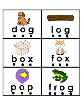 Short Vowel o No Prep Printables