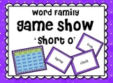 Short Vowel 'o' Word Families GAME SHOW for PowerPoint