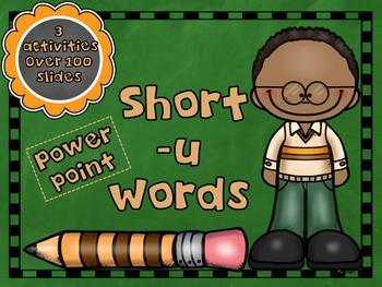 Short Vowel -u PowerPoint