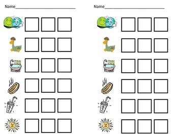 Short Vowel u Word Work- Kindergarten 1st Grade Reading & Writing