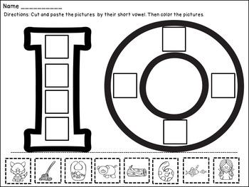 CVC Worksheets with Short Vowel Practice