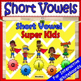 Short Vowels Kindergarten PowerPoint Game