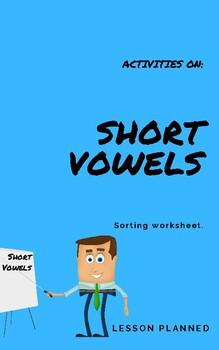 Short Vowels Activity