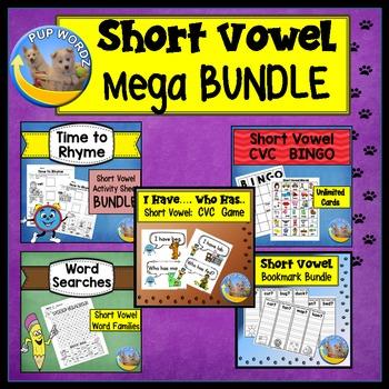 Short Vowel   Activity Bundle