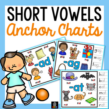 Short Vowels Anchor Charts