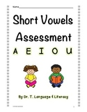 Short Vowels Assessment