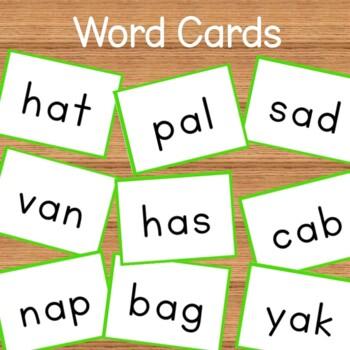 Short Vowels BUNDLE -Activities, Flashcards, Printables, Readers, and Worksheets
