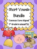 Short Vowels BUNDLE!  TWO Freebies in the Download Preview :o)