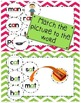 Short Vowels, Blends, Digraphs for First and Second Grade Word Work