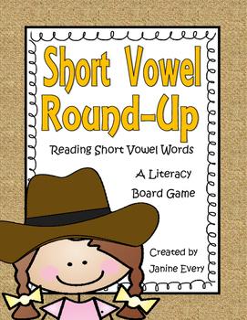 Short Vowels Board Game