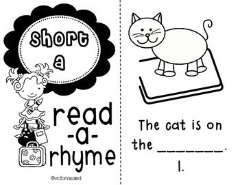 Short Vowels {Mini-Books}
