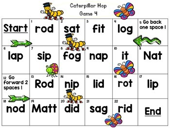 Short Vowels (Bugs & Butterflies)