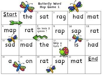 Short Vowels (Bugs & Butterflies)