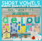 Short Vowels Bulletin Board Set - Go Shorties