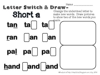 Short Vowels Bundle
