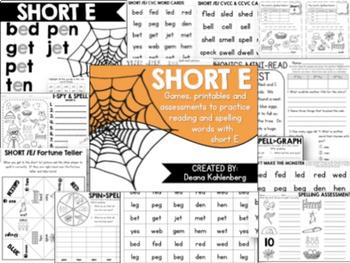 Short Vowels {Bundle Pack}