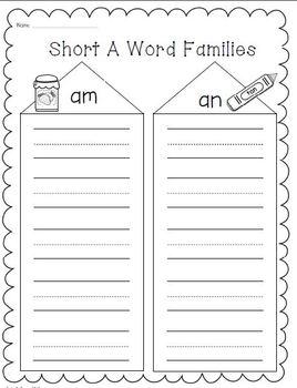 Short Vowels Bundle! Phonics/Word Work