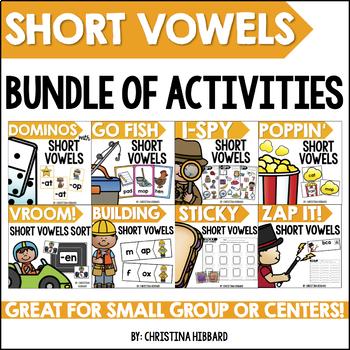 Short Vowels Bundle of Activities