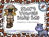 Short Vowels Busy Bag BUNDLE