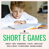 Short E Games - CVC Bingo, Dominoes, and other Board Games